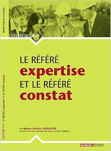 Livres gratuits Le référé expertise et le référé constat epub pdf