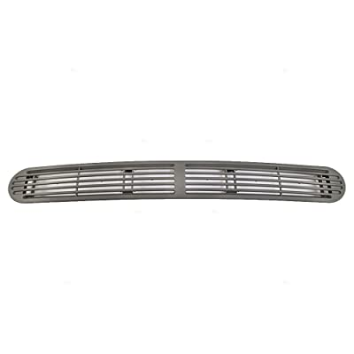 Dash Defrost Vent Cover Grille Panel Gray Pewter Replacement for Chevrolet S10 GMC Sonoma Oldsmobile SUV Pickup Truck 15046436: Automotive
