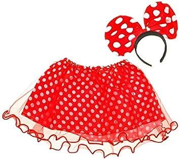 BSD Disfraz para Niños - Disfraz Infantil - Falda de Lunares ...