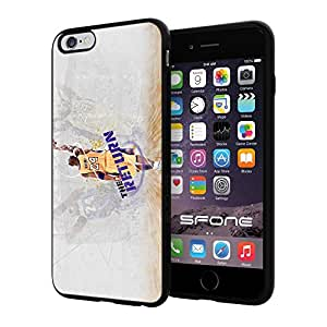 Los Angeles Lakers (Kobe Bryant) NBA Silicone Skin Case Rubber Iphone 6 Plus Case Cover