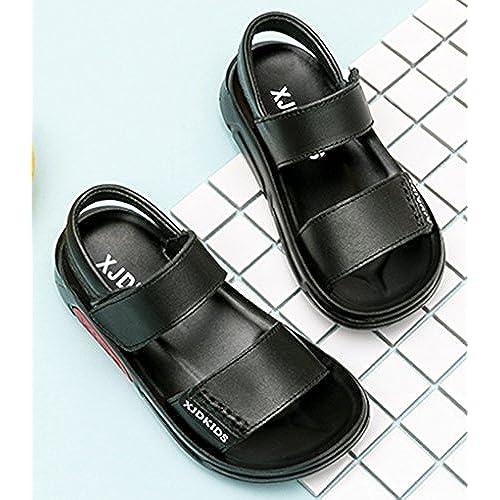 Garçon Sole Avec Premier Chaussures Vecjunia Scratch Souple Nouveau RqwWnWdvC