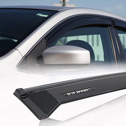LT Sport SN#100000001321-201 For 11-15 Toyota Sienna 2mm Injection Window Visor