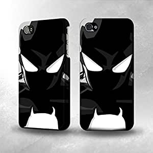 Apple iPhone 4 / 4S Case - The Best 3D Full Wrap iPhone Case - Black Suit Spider