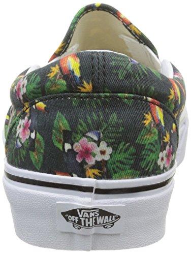 Multicolore Ginnastica Scarpe Unisex Classic on parrot Slip Da White true Basse chambray Adulto Vans Bwq1SzpWFq