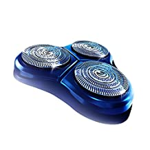 Philips Norelco SpeedXL Replacement Heads (2-PACK), with TripleTrack Heads and Super Lift and Cut Technology, and Low Friction SkinGlide Surface for an Extra Smooth Shave, Slots and Holes Catch Long and Short Hairs by Philips