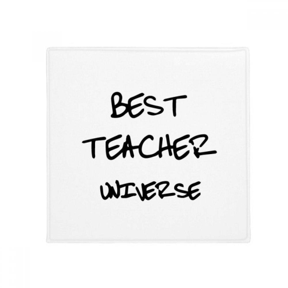 DIYthinker Best Teacher Universe Student Quote Anti-Slip Floor Pet Mat Square Home Kitchen Door 80Cm Gift