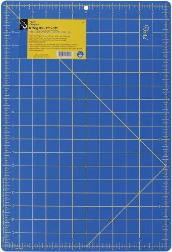 Gridded Rotary Mat (Dritz Gridded Cutting Mat, Royal Blue)
