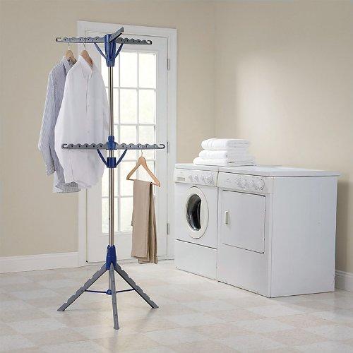 2段式三脚Clothes dryer-blue B0059ILR3M