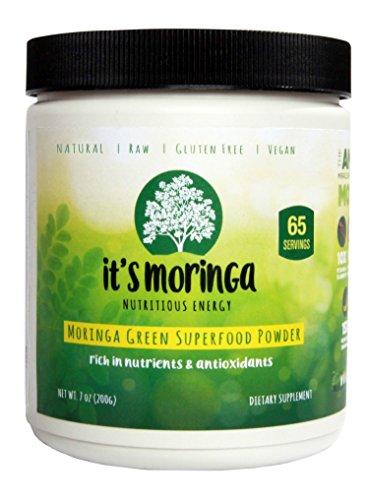 It's Moringa Nutritious Energy, Moringa Green Superfood Powder, 65 Day Supply, 7 Oz, All Natural Appetite Suppressant (Green Superfood High Energy compare prices)