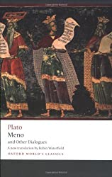 Meno and Other Dialogues: Charmides, Laches, Lysis, Meno (Oxford World's Classics) by Plato (2009) Paperback