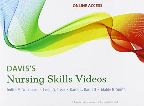 Davis's Nursing Skills Videos Access