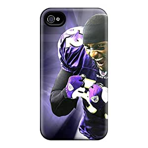 JasonPelletier Iphone 6plus Shock Absorbent Cell-phone Hard Covers Support Personal Customs Colorful Baltimore Ravens Image [gfH15039hupS]
