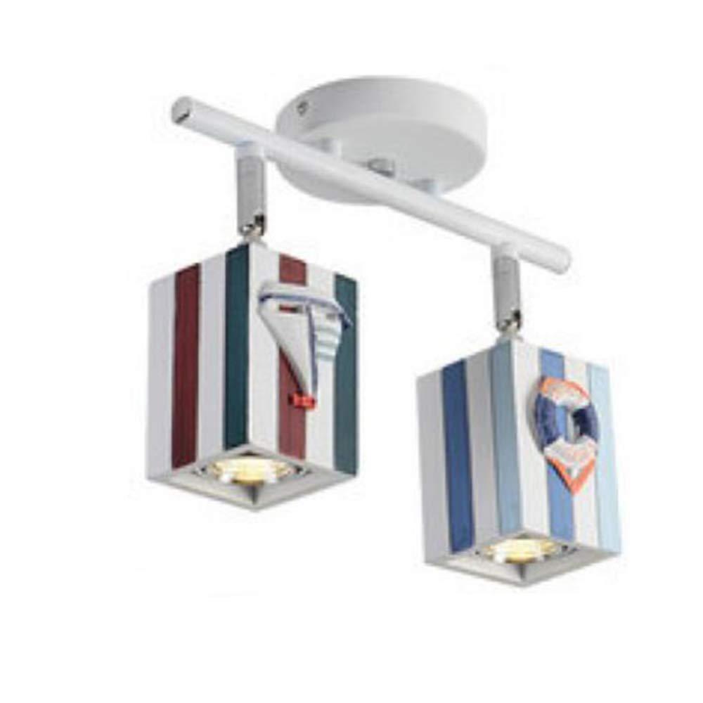 MICOKY Araña, Pista de LED de Dormitorio Infantil Simple Tira de ...