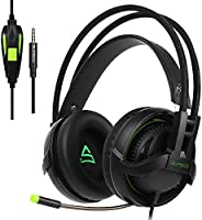 SUPSOO G813 Xbox One PS4 Gaming Headset 3.5mm filaire Over-e