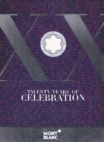 Montblanc Cultural Foundation: Twenty years of celebration pdf