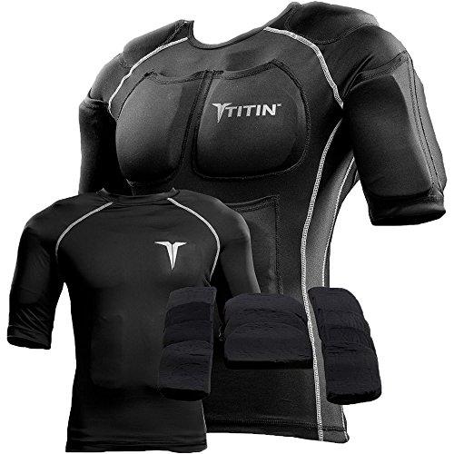 TITIN Force Shirt, Small, Black