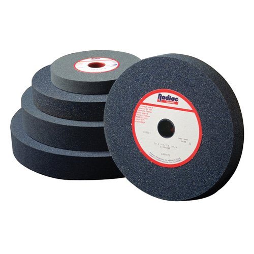 RADIAC Bench Grinding Wheel - Size: 10''X 1''X 1-1/4'' Specification: A46-M5-V1 by RADIAC
