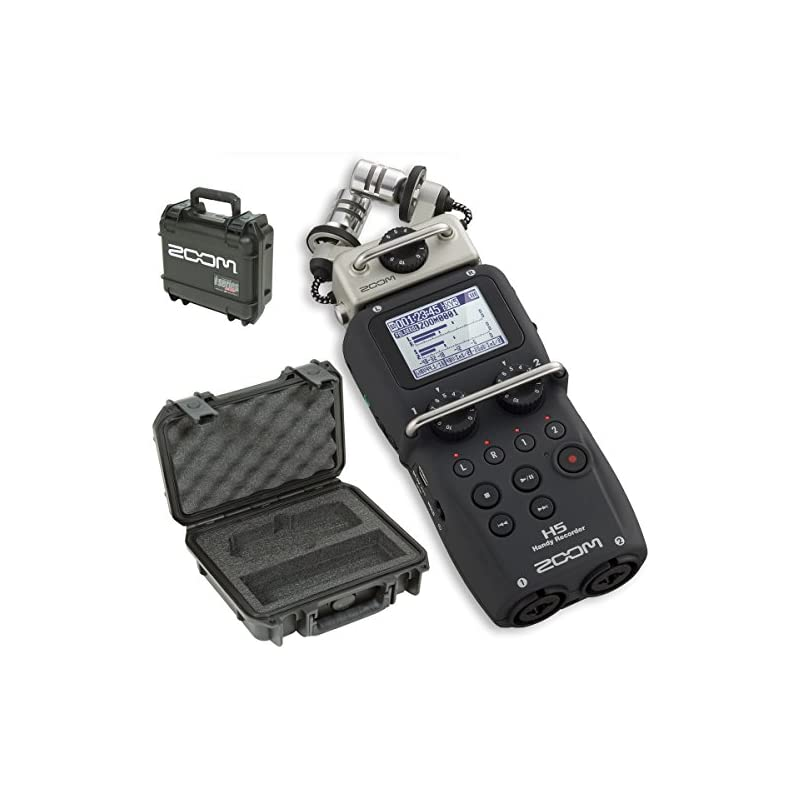 Zoom H5 Handy Recorder & SKB 3I-0907-4-H