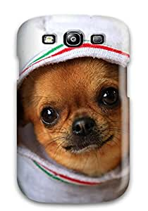 Tpu Shockproof/dirt-proof Funny Chihuahua Cover Case For Galaxy(s3)