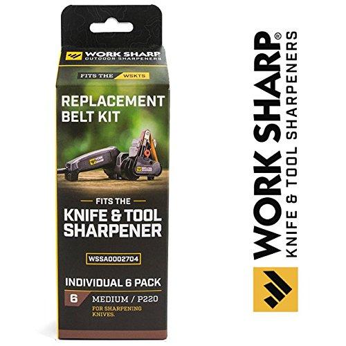 Work Sharp WSSA0002704 Medium 220 Replacement Belt (220 Belt)