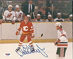 Sergei Makarov Flames Signed 8x10 Photo Signed Auto - PSA/DNA Certified Ad70484