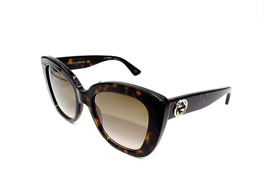 72f26e3def Gucci Gafas de Sol GG0327S HAVANA/GREY GREEN mujer: Amazon.es: Ropa y  accesorios