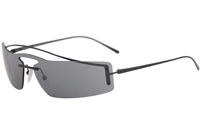 Prada 1AB5L0, Gafas de sol para Mujer, Black 45: Amazon.es ...