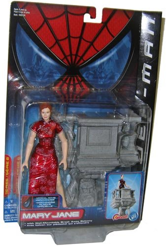 SpiderMan Movie ToyBiz Action Figure Mary Jane Break Away (Jane Toy)