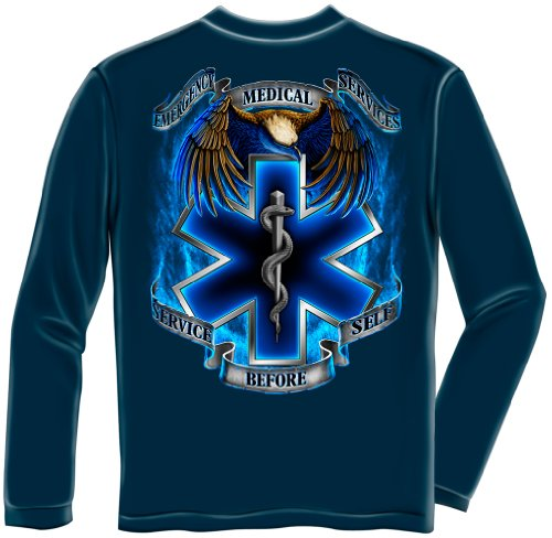 Erazor Bits EMT | Hero's EMS Long Sleeve T Shirt ADD-FF2082LSL]()