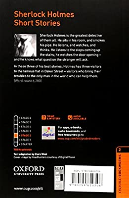 Oxford Bookworms 2. Sherlock Holmes-Stories Digital Pack: Amazon.es: Conan Doyle, Sir Arthur: Libros