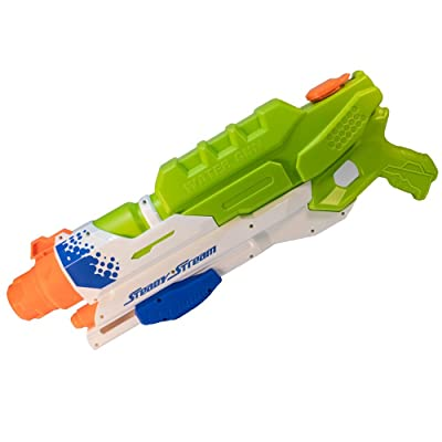 "TukTek Straight Shooter 22"" Steady Stream Super Water Gun Action Blaster Kids First Squirt Gun: Toys & Games"