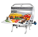 Magma Products, A10-918-2 Newport 2 Gourmet Series Gas Grill, Polished Stainless Steel