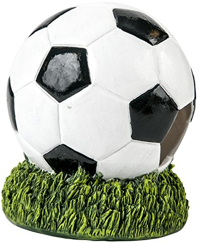 Penn Plax Sports Line: Aerating Bubbling Aquarium Ornament Decorations (Soccer)