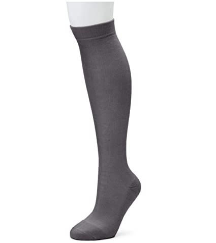 e81ffc9469 Men Womens Compression Socks Stockings Pain Relief Leg Foot Calf Support  (S-M,Grey)