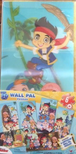 seguro de calidad 6 - 3d Wall Pal Lenticular Puzzle Jake and the the the Neverland Pirates by Cochedinal  el mas reciente