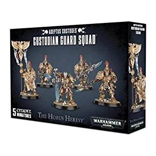 Games Workshop Warhammer 40k Custodian Guard Squad