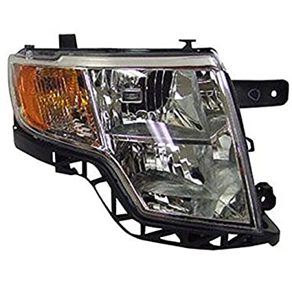 Amazon Com Headlights Depot Replacement For Ford Edge Headlight Lamp Right Hand Passenger Side Automotive