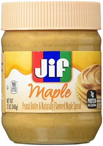 Jif Peanut Butter Spread Maple,12 Ounce
