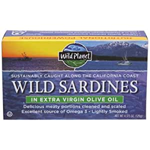 Wild Planet, Sardine Xvrgn Ooil, 4.375 OZ (Pack of 3)