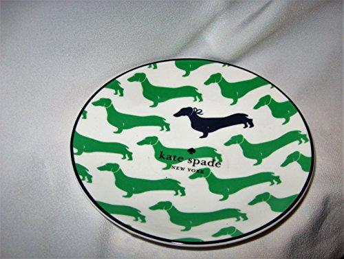 Kate Spade of New York Wickford Daschund Tidbit Plate