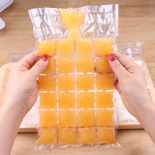 Connia Plastic Ice Bag One-time Clear Popsicle Bags Ice Cream Storage Bags for Home Kitchen by Connia (Image #2)