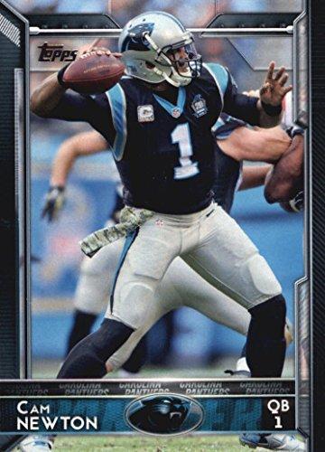 Carolina Panthers 2015 Topps NFL Football Complete Regular Issue 13 Card Team Set Including Cam Newton, Luke Kuechly, Kelvin Benjamin Plus