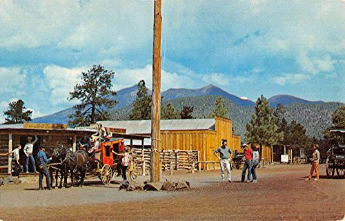 - Flagstaff Arizona Buffalo Park Street View Vintage Postcard K90849