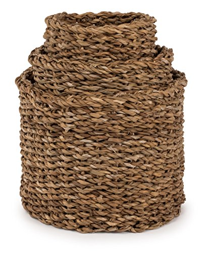 d Baguette Baskets, Set of 3 - Lg=10.5