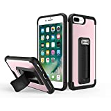 iphone 5 5s one direction case - Scooch Wingman 5-in-1 Case for iPhone 8 Plus (Also fits 7 Plus, 6S Plus, 6 Plus) (Rose Gold)