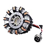 iron arc reactor - 1:1 DIY Arc Reactor Heart Model Mark 2 with LED Action Figure Need to Assemble,Buy Now get 1 Pair Sunglasses as Gift