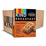 KIND Breakfast Bars, Peanut Butter, Gluten Free, 1.8oz, 32 Count