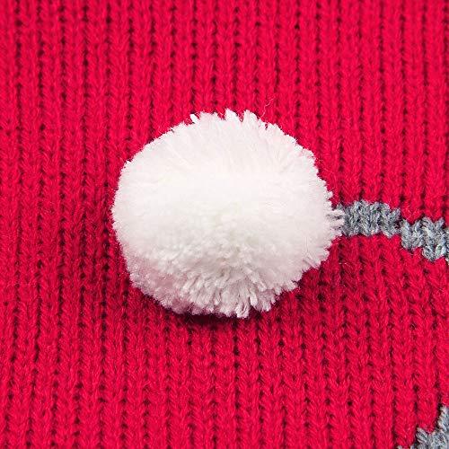 Chaud Tailleur De né Bouton Christmas Tricot À Nouveau Bébé Hiver Garçon Combi Noël Angelof Commutateur Accessoires Vetement Anniversaire Costume Rouge Enfants Cadeau Deguisement WIa5Yq