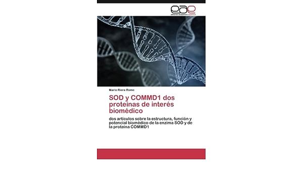 SOD y COMMD1 dos proteínas de interés biomédico: Amazon.es ...