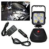 PA 1x LED Work 3 functions Light Portable Handed Rechargeable Magnetic Base 15W Light High Lumen